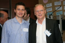Der Präsident der Bundesnetzagentur Jochen Homann (rechts)