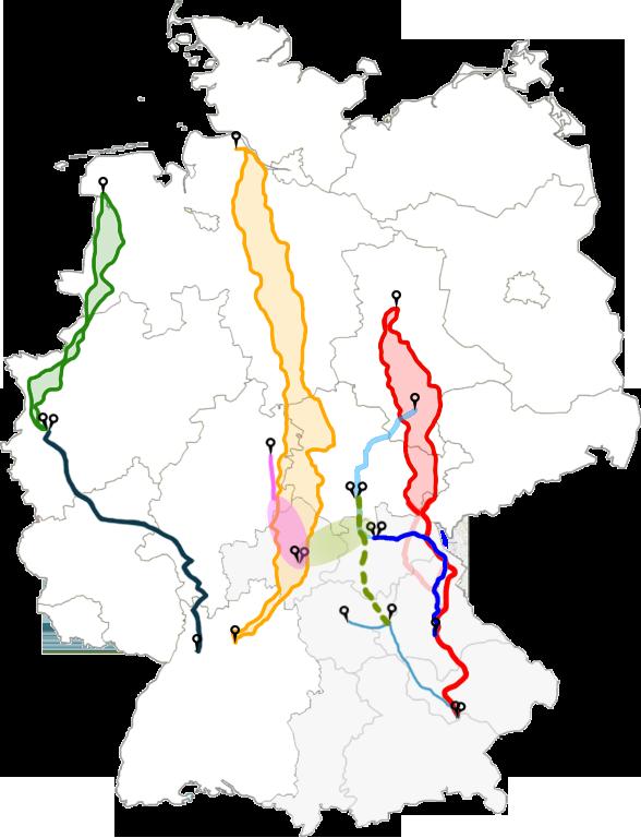 Trassenkarte